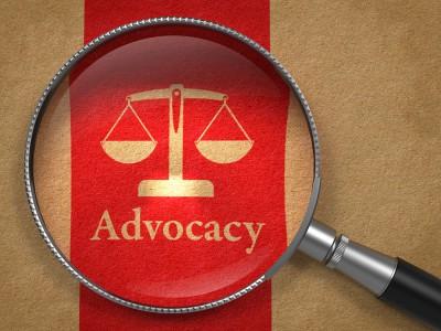 Advocacy Concept.