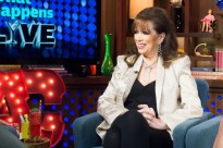 WATCH WHAT HAPPENS LIVE -- Pictured: Jackie Collins -- (Photo by: Charles Sykes/Bravo/NBCU Photo Bank)