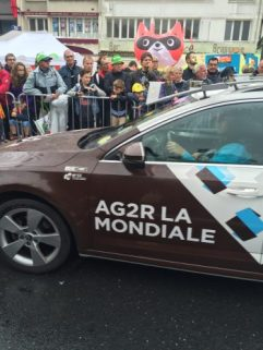 Ah-Jay-Deux-Air's team car