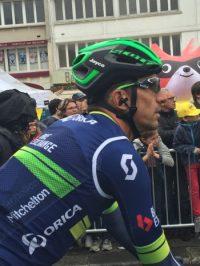 Here is the Orica-BikeExchange Jersey