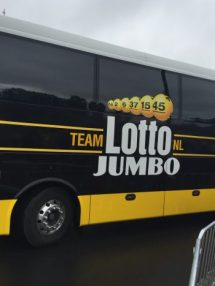 More than a team bus - some good advertising